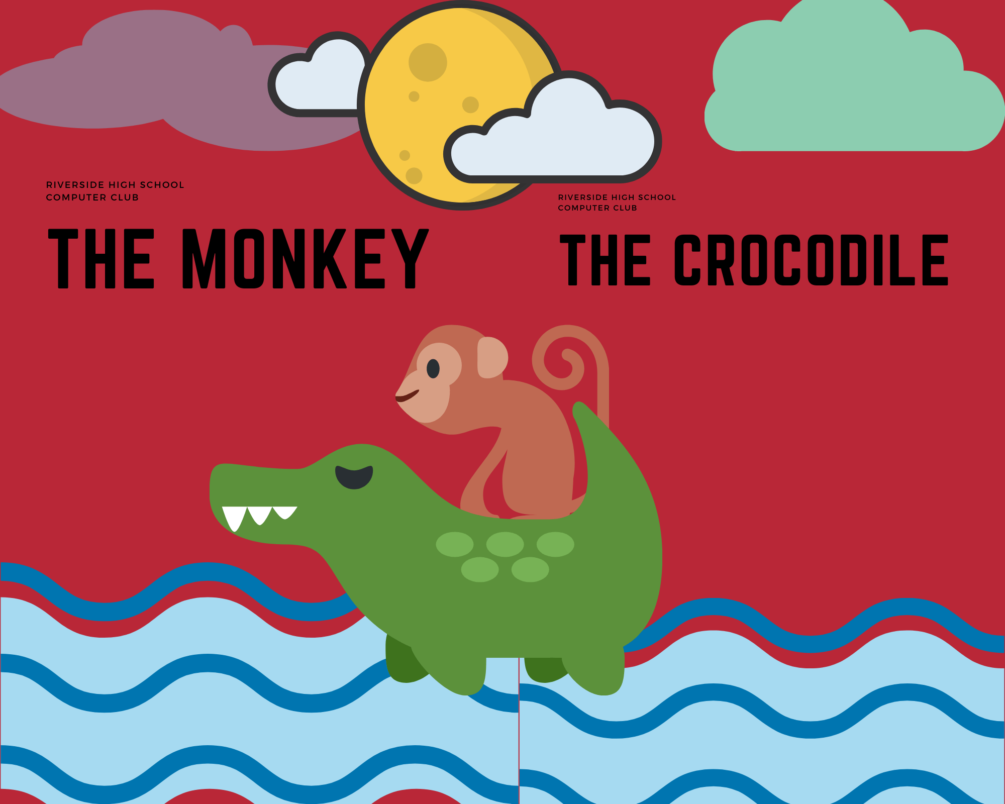 THE CROCODILE AND THE MONKEY