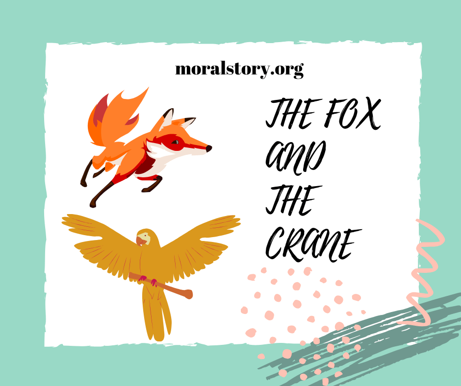 the fox and the crane