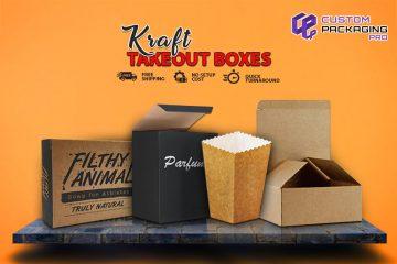 Kraft Takeout Boxes