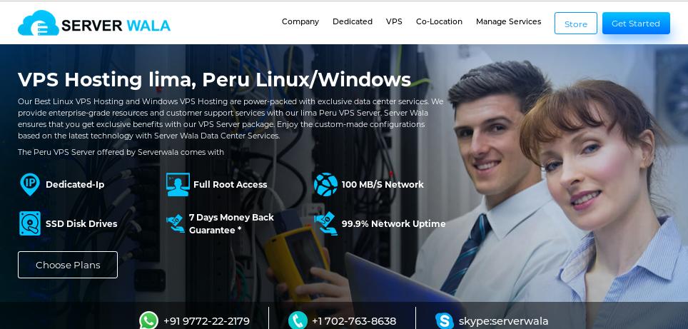 VPS Hosting Peru by Serverwala
