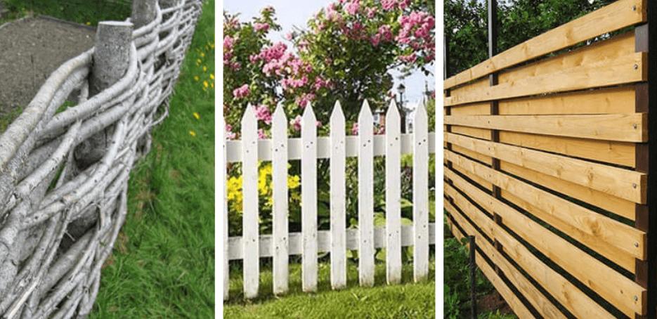Unique DIY fences